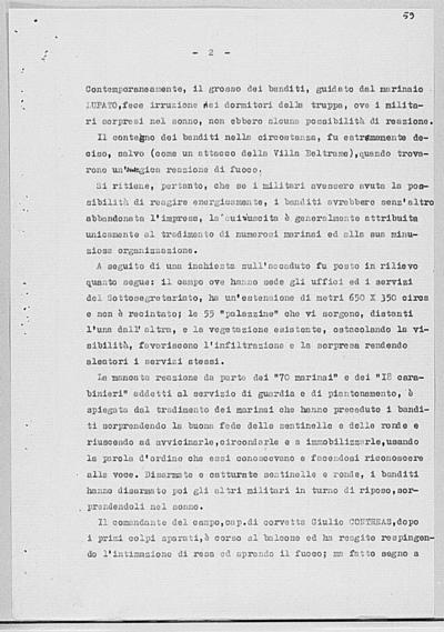 Image from object titled Notizia tratta dal Notiziario della Guardia Nazionale Repubblicana del giorno 08-08-1944