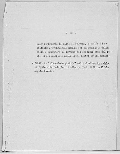 Image from object titled Notizia tratta dal Notiziario della Guardia Nazionale Repubblicana del giorno 31-10-1944