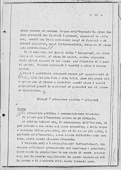 Image from object titled Notizia tratta dal Notiziario della Guardia Nazionale Repubblicana del giorno 30-11-1944