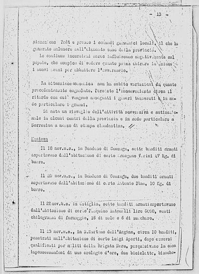 Image from object titled Notizia tratta dal Notiziario della Guardia Nazionale Repubblicana del giorno 05-12-1944