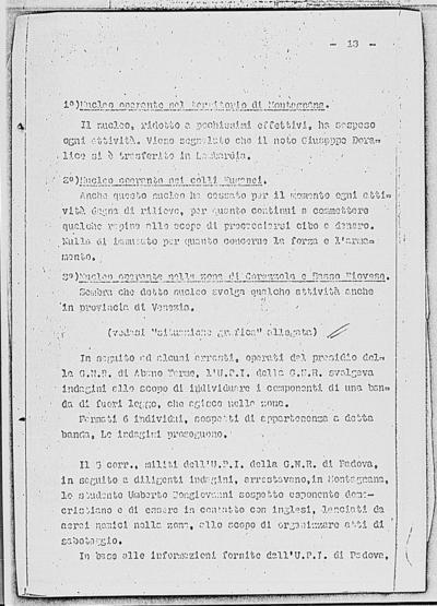 Image from object titled Notizia tratta dal Notiziario della Guardia Nazionale Repubblicana del giorno 22-01-1945