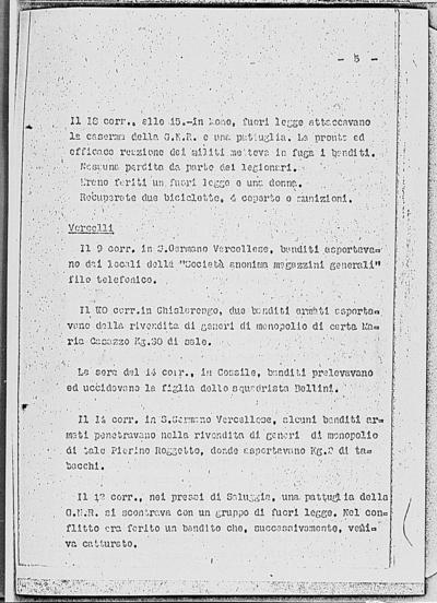Image from object titled Notizia tratta dal Notiziario della Guardia Nazionale Repubblicana del giorno 26-01-1945
