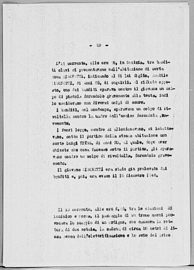 Image from object titled Notizia tratta dal Notiziario della Guardia Nazionale Repubblicana del giorno 27-01-1945