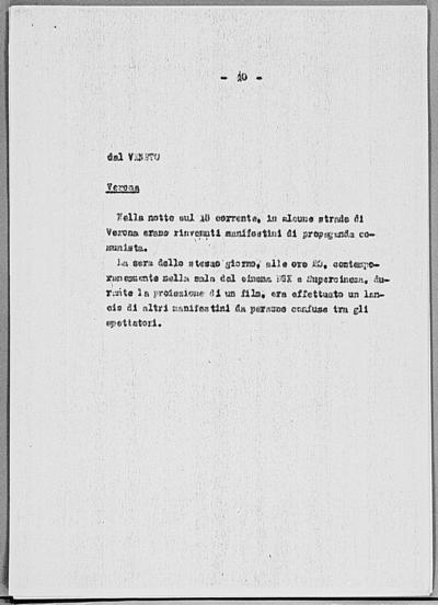 Image from object titled Notizia tratta dal Notiziario della Guardia Nazionale Repubblicana del giorno 27-02-1945