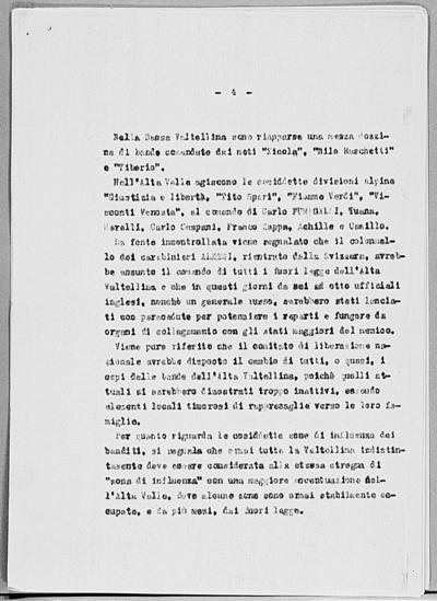 Image from object titled Notizia tratta dal Notiziario della Guardia Nazionale Repubblicana del giorno 17-03-1945