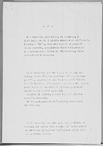Image from object titled Notizia tratta dal Notiziario della Guardia Nazionale Repubblicana del giorno 28-03-1945