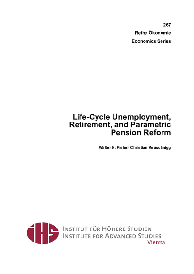 Life-Cycle Unemployment, Retirement, and Parametric Pension Reform