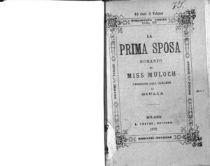 La prima sposa : romanzo