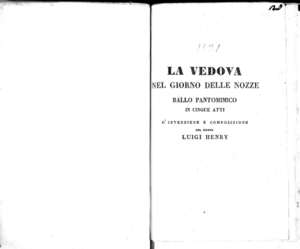 Anna Bolena tragedia lirica in due atti da rappresentarsi nel Teatro Carcano il carnevale 1830-31