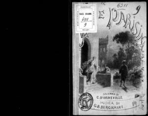 Ugo e Parisina : dramma lirico in tre atti con prologo