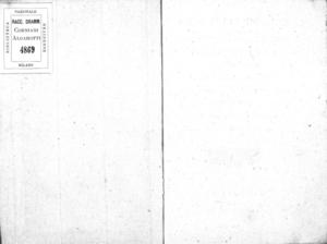 I castelli in aria ossia Gli amanti per accidente, farsa giocosa per musica di Giuseppe Foppa. Da rappresentarsi nel nobilissimo Teatro Venier in S. Benedetto nella Fiera dell'Ascensione dell'anno 1802