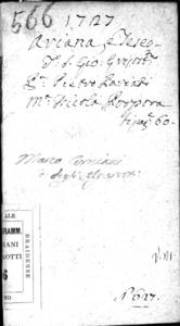 Arianna e Teseo, dramma per musica da rappresentarsi nel Teatro Grimani di san Gio. Grisostomo nell'autunno 1727