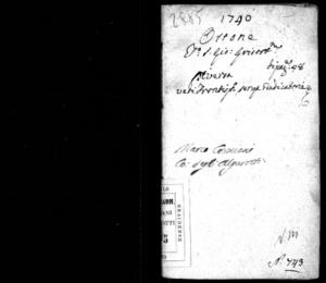Ottone, dramma per musica da rappresentarsi nel famosissimo Teatro Grimani di S. Gio. Grisostomo il carnovale dell'anno 1740