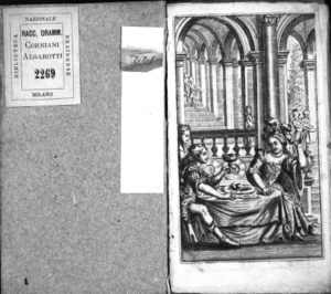 L'Alboino in Italia. Drama per musica da rappresentarsi nel famosissimo Teatro Grimano di SS. Gio. e Paolo l'anno 1691. Consacrato all'illustriss. ... D. Camillo Gonzaga, conte di Nouellara ...