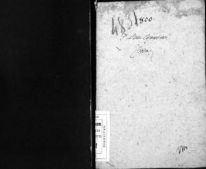 I due cognomi, farsa giocosa per musica di Gaetano Rossi da rappresentarsi nel nobilissimo Teatro in San Samuele l'autunno 1800