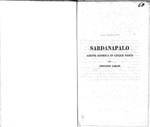 Mosè : melodramma sacro in quattro atti da rappresentarsi nell'I. R. Teatro alla Scala l'autunno del 1846