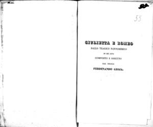 L'imboscata : melodramma in due atti da rappresentarsi nell'I. R. Teatro alla Canobbiana nella primavera dell'anno 1833
