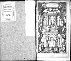 Eteocle e Polinice, drama per musica da rappresentarsi in Modona nel Teatro Fontanelli, consecrato all'altezza serenissima di Francesco 2. duca di Modona, Reggio &c