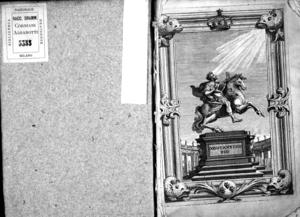 Costantino Pio, festa teatrale in occasione della nascita del delfino offerta alle sacre reali maestà cristianissime del re e regina di Francia dal cardinale Otthoboni protettore degl'affari della corona