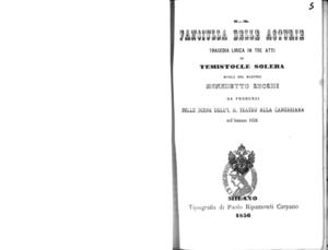 Fanciulla delle Asturie : tragedia lirica in tre atti