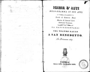 Iginia d'Asti : melo-dramma in due atti