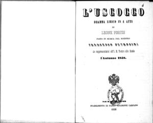 L'uscocco : dramma lirico in 4 atti