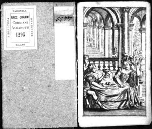 L'onor vindicato, o' sia L'Armisia gran dinastessa di Tauris. Tragidramma reale per musica rappresentato nel Teatro dell'illustrissima Communità di Reggio l'anno 1681. Consegrato all'immortalità ... del serenissimo...
