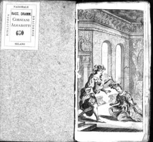 La caduta de' decemviri, dramma per musica da rappresentarsi in Siena pel Carnevale del 1704. Dedicata all'illustrissima signora Cammilla Antonia Grifoli Sozzifanti