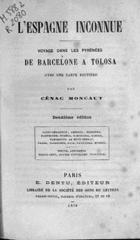 Carte De Lespagne Barcelone.L Espagne Inconnue Voyage Dans Les Pyrenees De Barcelone A Tolosa