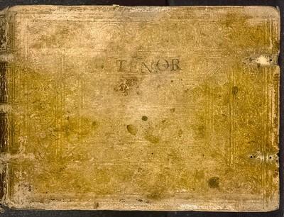 Psalmorum selectorum a praestantissimis huius nostri temporis in arte musica artificibus in harmonias quatuor, quinque, et sex vocum redactorum (1553) Tenor