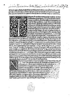 Tabulae astronomicaecum canonibus Johannis de Saxonia
