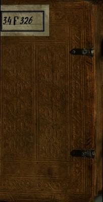 DICTIONARIVM PAVPERVM, ORDINE ALPHABETICO, DE VIRTVTIBVS ET VITIIS, CONTINENS PRAEEXERCITAMENTA QVAEdam ad pleniorem doctrinam viam munientia, cum studiosis omnibus tum praecipue sacris concionatoribus / A F.P. Rodulphio a...
