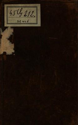 Grammaire Méthodique & Raisonnée = oder Frantzösisch-Teutsche Grammatica, in welcher die rechte Eigenschafft, Zierde und Reinigkeit der Frantzösischen Sprache, eine deutliche und natürliche Erklärung derer fürnehmsten...