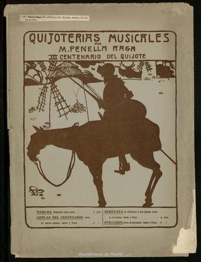 Quijoterías musicales. Ovillejos del Quijote