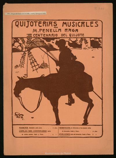 Quijoterías musicales. Coplas del centenario