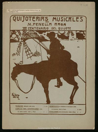 Quijoterías musicales. Marcha Solemne
