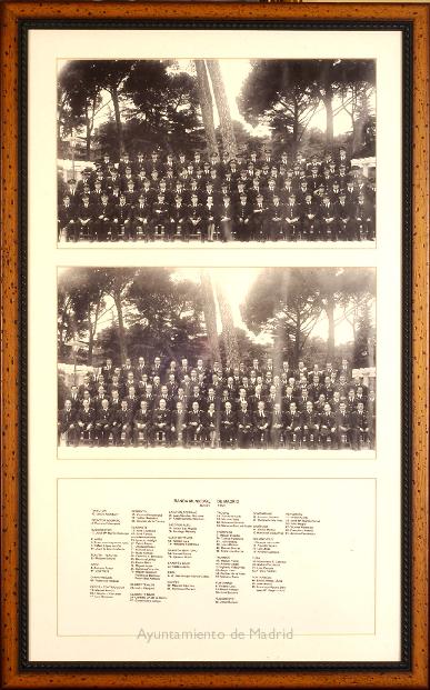Plantilla de la Banda Municipal de Madrid en 1959