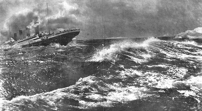 Image from object titled La catástrofe del Titanic