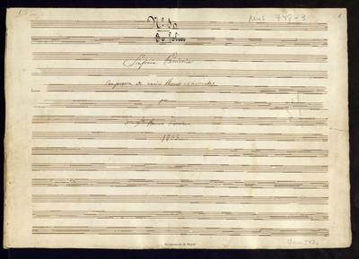Sinfonia patriotica compuesta de varios himnos nacionales