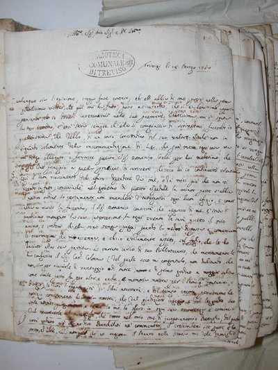 Lettere all'abate Francesco Benaglio