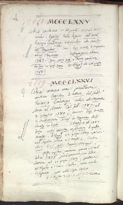 Venezia, Biblioteca del Museo Correr, Cicogna 2619