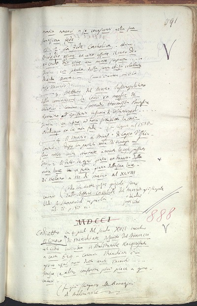 Venezia, Biblioteca del Museo Correr, Cicogna 888