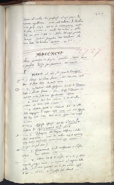 Venezia, Biblioteca del Museo Correr, Cicogna 2727