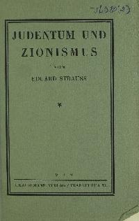 Judentum und Zionismus
