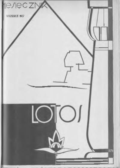 Image from object titled Lotos : miesięcznik poświęcony rozwojowi i kulturze życia wewnętrznego, 1937, R. 4, z. 9
