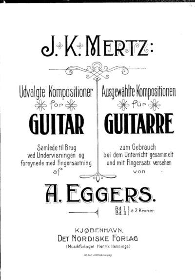 Udvalgte Kompositioner for Guitar : Bd. II