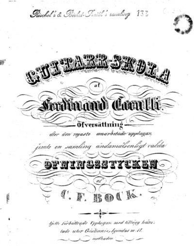 Image from object titled Guitarr-skola