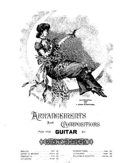 Rigoletto [by] Verdi; Arrangements and compositions for the guitar