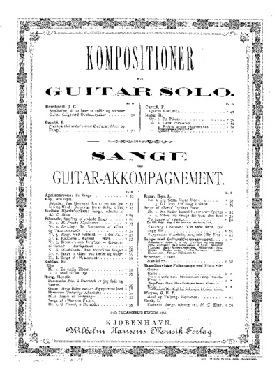 ...Petites leçons progresives. Op. 3...; Kompositioner for Guitar solo