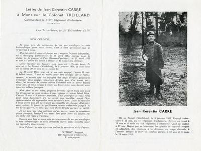 Image from object titled FRAM - Journal de guerre de Jean Carré